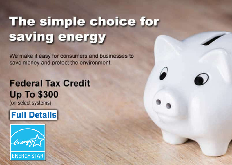 Energy Star Federal Tax Credit Program and Incentives for New AC HVAC Installations